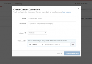 how to create conversions on quora advertising platform