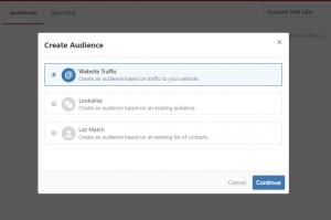 Set up retargeting and custom audience